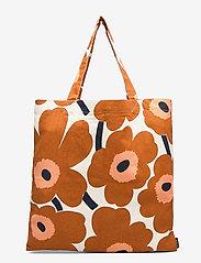 Marimekko Home - PIENI UNIKKO BAG - tote bags - cotton, chestnut - 1