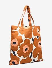 Marimekko Home - PIENI UNIKKO BAG - tote bags - cotton, chestnut - 2