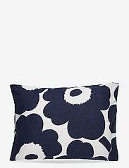 Marimekko Home - UNIKKO CO/LI DC - pillowcases - cotton, dark blue - 0
