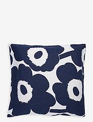 Marimekko Home - UNIKKO CO/LI DC - taies d'oreiller - cotton, dark blue - 0