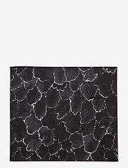 Marimekko Home - KÄPYKANGAS NAPKIN - serwetki papierowe - dark grey, white - 0