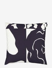 Marimekko Home - RUUDUT CUSHION COVER - housses de coussins - responsible color, white - 0