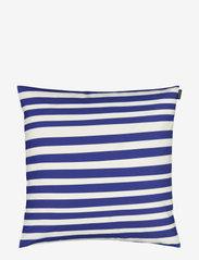 Marimekko Home - UIMARI CUSHION COVER - housses de coussins - white, blue - 0
