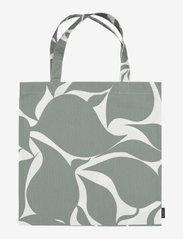 Marimekko Home - RUUDUT BAG - tote bags - responsible color, white - 0