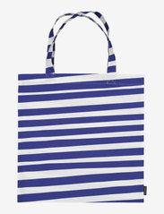 Marimekko Home - UIMARI BAG - tote bags - white, blue - 0