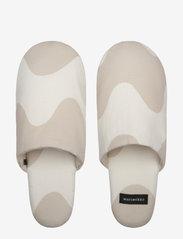 Marimekko Home - LOKKI SLIPPERS - tossut - white, beige - 0