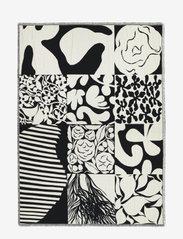 Marimekko Home - RUUDUT BLANKET - plaids - white, black - 0