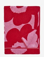 UNIKKO BATH TOWEL 70X150 CM - PINK/RED