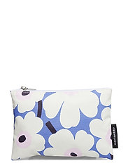Kaika Mini Unikko Cosmetic Bag Toalettveske Blå MARIMEKKO HOME