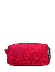 Tiise Puketti cosmetic bag - DARK RED,RED,PINK