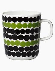 SIIRTOLAPUUTARHA MUG 2,5DL - WHITE, BLACK, GREEN