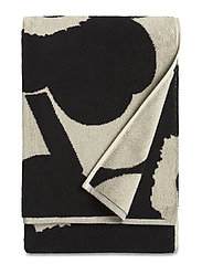UNIKKO BATH TOWEL - BLACK,SAND