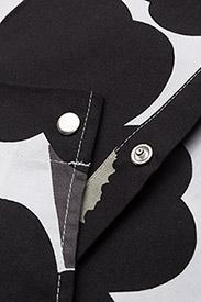 Marimekko Home - PIENI UNIKKO APRON - forklæder - white, black, olive - 2