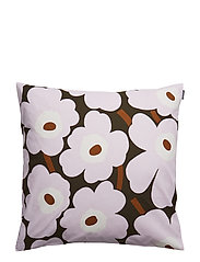 PIENI UNIKKO CUSHION COVER - DARK GREEN, PINK, BROWN