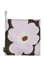 PIENI UNIKKO POT HOLDER - DARK GREEN, PINK, BROWN