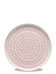 SIIRTOLAPUUTARHA PLATE - WHITE, PINK