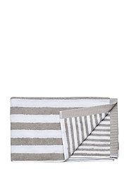 KAKSI RAITAA HAND TOWEL - GREY, WHITE