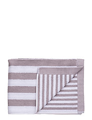 KAKSI RAITAA BATH TOWEL - GREY, WHITE