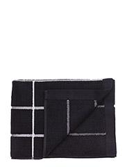 TIILISKIVI BATH TOWEL - BLACK, WHITE