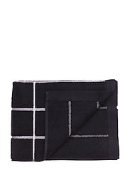 TIILISKIVI BATH TOWEL - BLACK, WHITE