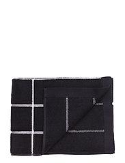 TIILISKIVI GUEST TOWEL - BLACK, WHITE
