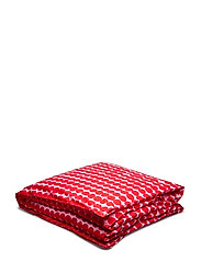 RÄSYMATTO DUVET COVER - RED, PINK