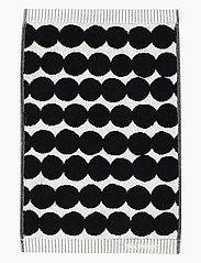 RÄSYMATTO GUEST TOWEL - WHITE, BLACK