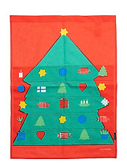 ROSOLLI Advent Calendar - RED,GREEN,BLUE,YELLOW