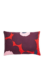 UNIKKO CUSHION COVER - RED, VIOLET, PINK