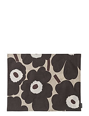 P.UNIKKO PLACEMAT - BEIGE, DARK GREY, BROWN