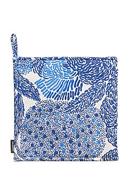 MYNSTERI POT HOLDER - WHITE, BLUE