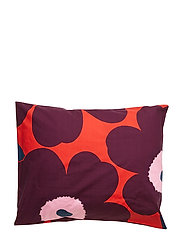 UNIKKO PILLOW CASE - RED, VIOLET, PINK