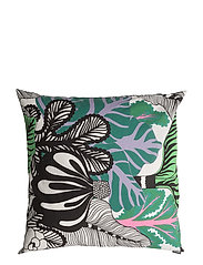 KAALIMETSÄ CUSHION COVER - WHITE, GREEN, VIOLET