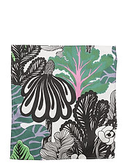 KAALIMETSÄ TEA TOWEL - WHITE, GREEN, VIOLET