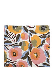 ROSARIUM TEA TOWEL - WHITE, RED, YELLOW, BLUE