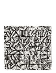 JUUSTOMUOTTI KITCHEN TOWEL/NAPKIN - BLACK, OFF WHITE