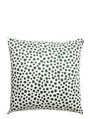 PAKKASMARJA CUSHION COVER - WHITE, GREEN