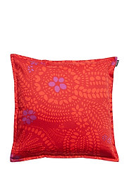 NÄSIÄ CUSHION COVER - DARK RED, RED, VIOLET