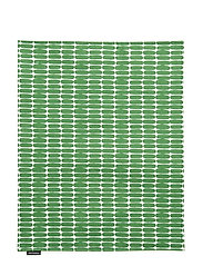 ALKU ACRYL C.PLACEMAT - WHITE, GREEN