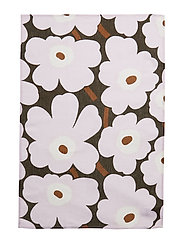 P.UNIKKO KITCHEN TOWEL 2 PCS - DARK GREEN, PINK, BROWN