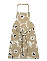 PIENI UNIKKO APRON - OFF-WHITE, BEIGE, DARK BLUE