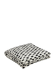 ISO NOPPA DUVET COVER - OFF-WHITE, BLACK