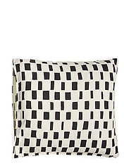 ISO NOPPA PILLOW CASE - OFF-WHITE, BLACK