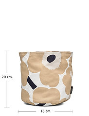 Marimekko Home - PIENI UNIKKO BREAD BASKET - accessories - off-white, beige, dark blue - 5