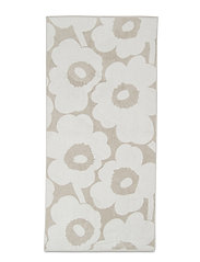 UNIKKO BATH TOWEL - BEIGE, WHITE
