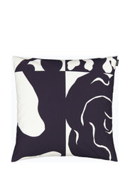 RUUDUT CUSHION COVER - RESPONSIBLE COLOR, WHITE