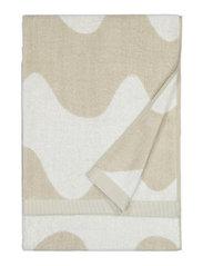 LOKKI BATH TOWEL - BEIGE, WHITE