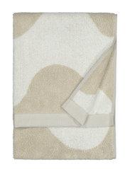 LOKKI HAND TOWEL - BEIGE, WHITE