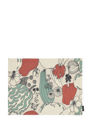 VIHANNESMAA ACRYL COATED PLACEMAT - RED, GREEN