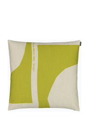 MM CO-CREATED CUSHION COVER - GREEN